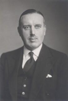 Sir Austin Uvedale Morgan Hudson, by Walter Stoneman - NPG x168461