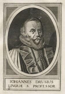 Johannes van den Driesche (Drusius), after Unknown artist - NPG D42575