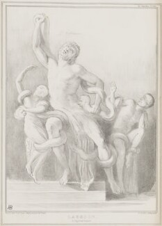 Laocoon, by John ('HB') Doyle, printed by  Alfred Ducôte, published by  Thomas McLean - NPG D41460