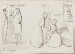 A Case of Consumption, by John ('HB') Doyle, printed by  Alfred Ducôte, published by  Thomas McLean - NPG D41474