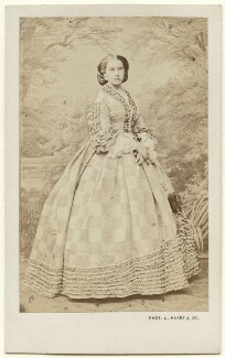 Infanta Antonia of Portugal, Princess of Hohenzollern, by L. Haase & Co, 1860s - NPG x136642 - © National Portrait Gallery, London