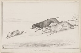 Coursing Extraordinary, by John ('HB') Doyle, printed by  Alfred Ducôte, published by  Thomas McLean - NPG D41476