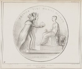 New Coronation Medal, by John ('HB') Doyle, printed by  Alfred Ducôte, published by  Thomas McLean - NPG D41481