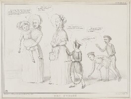 Dry Nurses, by John ('HB') Doyle, printed by  Alfred Ducôte, published by  Thomas McLean - NPG D41485