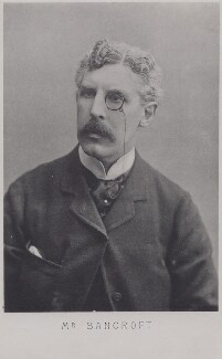 Sir Squire Bancroft (né Butterfield), by Direct Photo Engraving Co Ltd, after  Barrauds Ltd - NPG x136662