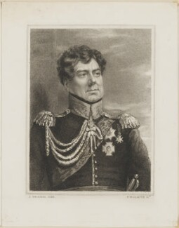 King George IV, by Thomas Woolnoth, after  Thomas Charles Wageman - NPG D42496
