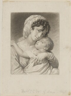 Ann Susanne Wageman and Michael Angelo Wageman, by or after Thomas Charles Wageman - NPG D42499