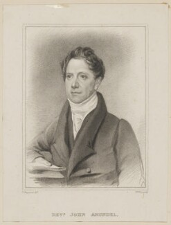 John Arundel, by William Thomas Fry, published by  B.J. Holdsworth, after  Thomas Charles Wageman, published 1826 - NPG D42505 - © National Portrait Gallery, London