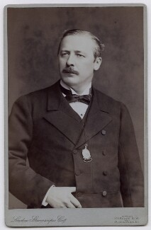 Evelyn Baring, 1st Earl of Cromer, by London Stereoscopic & Photographic Company - NPG x7302