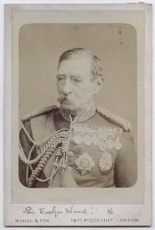 Robert Cornelis Napier, 1st Baron Napier of Magdala, by Maull & Fox - NPG x136663