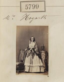 Charlotte Dorothea Hogarth (née Greville), by Camille Silvy - NPG Ax55753