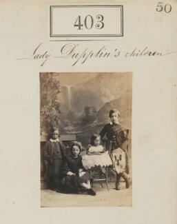 'Lady Dupplin's children', by Camille Silvy, 1860 - NPG Ax50154 - © National Portrait Gallery, London