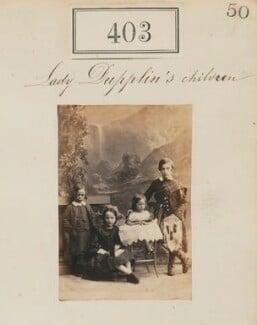 'Lady Dupplin's children', by Camille Silvy - NPG Ax50154