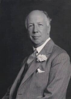 Edward Mauger Iliffe, 1st Baron Iliffe, by Walter Stoneman - NPG x168524
