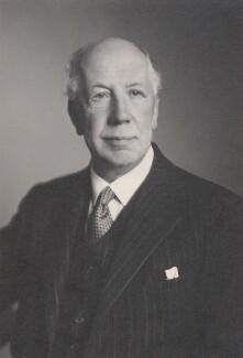 Edward Mauger Iliffe, 1st Baron Iliffe, by Walter Stoneman - NPG x168525