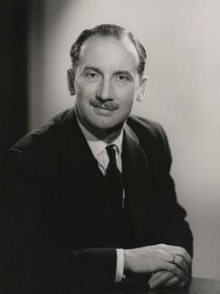 Sydney Irving, Baron Irving of Dartford, by Walter Bird, 4 December 1964 - NPG x168547 - © National Portrait Gallery, London