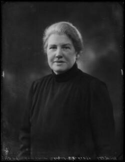 Dame Louisa Brandreth Aldrich-Blake, by Bassano Ltd - NPG x158757