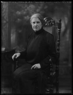 Dame Louisa Brandreth Aldrich-Blake, by Bassano Ltd - NPG x158758