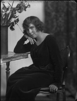 Rosemary Theresa (née Rees), Lady du Cros, by Bassano Ltd - NPG x158775