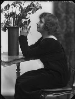 Rosemary Theresa (née Rees), Lady du Cros, by Bassano Ltd - NPG x158776