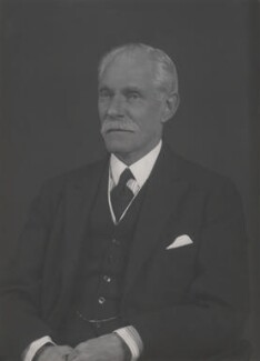 John Poynder Dickson-Poynder, 1st Baron Islington, by Walter Stoneman - NPG x168555