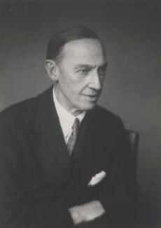 Sir Barry Vincent Jackson, by Walter Stoneman, January 1948 - NPG x168560 - © National Portrait Gallery, London