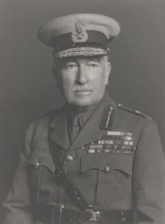 Sir Claud William Jacob, by Walter Stoneman - NPG x168570
