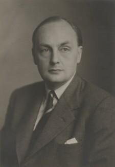 (Hubert Miles) Gladwyn Jebb, 1st Baron Gladwyn, by Walter Stoneman - NPG x168592