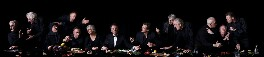 Actors' Last Supper, by Alistair Morrison, and by  Andy Teare, and by  Dean Mitchell - NPG x136665