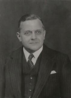 Sir Reginald Powell Croom-Johnson, by Walter Stoneman - NPG x168628