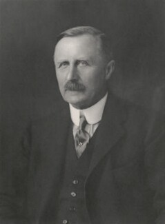Sir Robert Arthur Johnson, by Walter Stoneman - NPG x168629