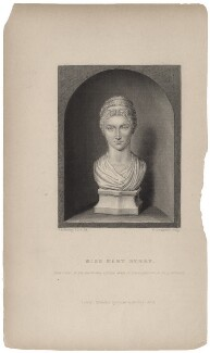 Mary Berry, by William Greatbach, drawn by  George Perfect Harding, published by  Richard Bentley, after  Anne Seymour Damer (née Conway) - NPG D42589