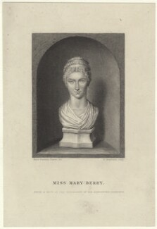 Mary Berry, by William Greatbach, published by  Richard Bentley, after  Anne Seymour Damer (née Conway) - NPG D42591