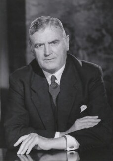 Sir David Lindsay Keir, by Walter Bird - NPG x168687