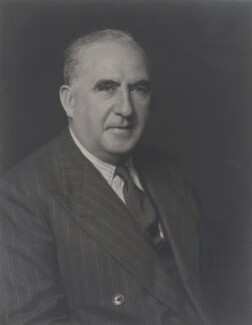 Sir Robert Ernest Kelly, by Walter Stoneman - NPG x168697