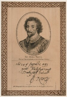Sir John Norris (Norreys), published by John Thane, after  Unknown artist - NPG D42588