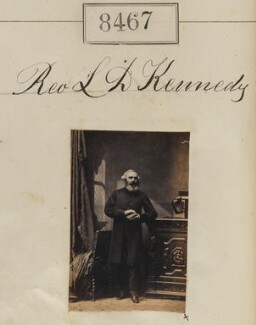 Lewis Drummond Kennedy, by Camille Silvy - NPG Ax58289