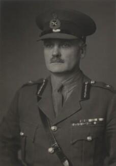 Sir (Harold) Reginald Kerr, by Walter Stoneman - NPG x168723