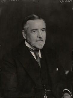 Sir George Halsey Perley, by Walter Stoneman - NPG x169945