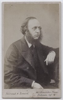 Sir William Overend Priestley, by Barraud & Jerrard - NPG x136681