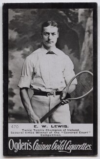Ernest Wool Lewis, by Elliott & Fry, published by  Ogden's - NPG x136684