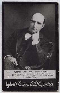 Sir Arthur Wing Pinero, published by Ogden's - NPG x136685