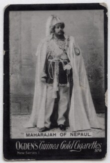 Maharaja Bir Shumsher Jung Bahadur Rana, published by Ogden's - NPG x136687