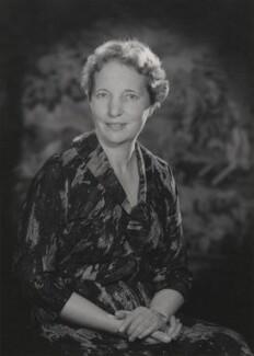 Dame Edith Maud Pitt, by Walter Bird - NPG x159676