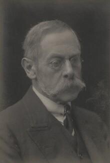 Sir Frederick Pollock, 3rd Bt, by Walter Stoneman - NPG x159690