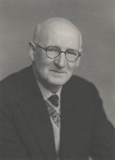 Sir Raymond Edward Priestley, by Walter Stoneman - NPG x159747