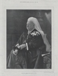 Queen Victoria, by Lascelles, after  Hughes & Mullins - NPG x136697