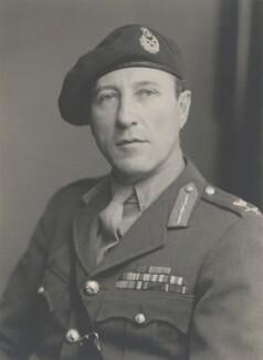 Sir Gerald William Lathbury, by Walter Stoneman - NPG x168843