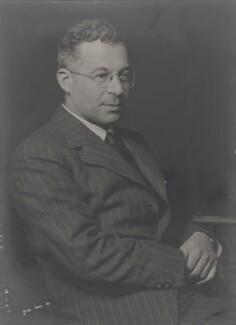 Judah Hirsch Quastel, by Walter Stoneman, April 1940 - NPG x159776 - © National Portrait Gallery, London