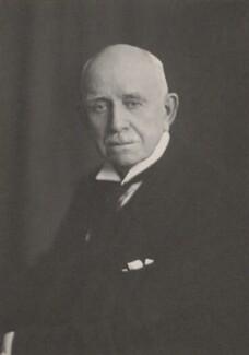 Hugh Richard Heathcote Gascoyne-Cecil, Baron Quickswood, by Walter Stoneman - NPG x159777